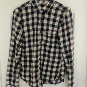 Flannel button-up